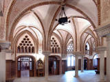Episcopal Palace of Astorga - Main entrance hall